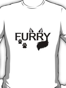 .Furry. T-Shirt