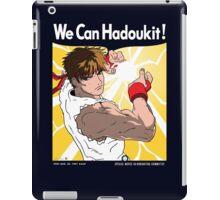 We Can Hadoukit iPad Case/Skin