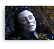Loki - The Dark World XX Canvas Print