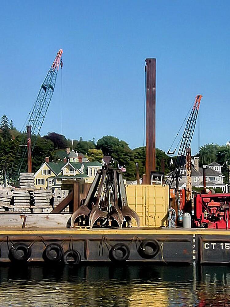 The Industrial Side of Mackinaw Island by Erika Benoit