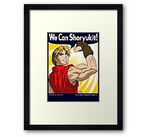 We Can Shoryukit! Framed Print