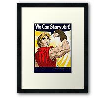 We Can Shoryukit! Framed Print