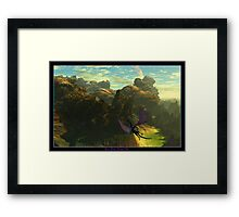 "Shon's World ""Dragon Flight"" Framed Print"