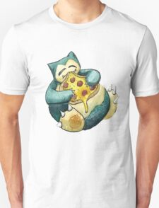 Pokemon pizza party- Snorlax T-Shirt