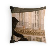Angel Tears Throw Pillow
