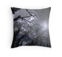 Something Dark and Dreary Throw Pillow