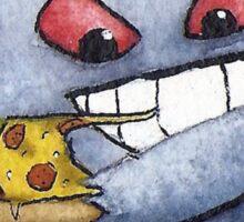 Pokemon pizza party- Gengar Sticker