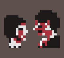 8-bit Demolition Lovers by Cecile Haynes