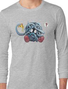 Pokemon pizza party- Tangela Long Sleeve T-Shirt