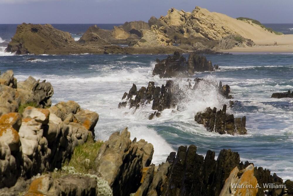 Rocky Bay by Warren. A. Williams