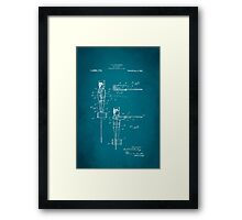 Toy Soldier Patent 1921 Framed Print