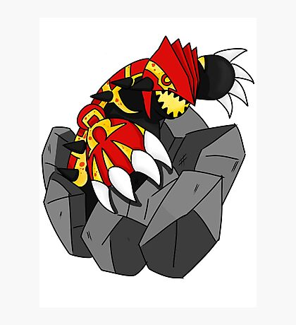 Omega Ruby Photographic Print