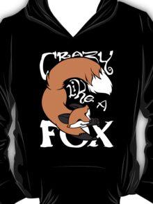 Crazy Like A Fox (Orange) T-Shirt