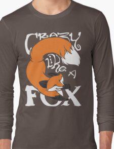 Crazy Like A Fox (Orange) Long Sleeve T-Shirt