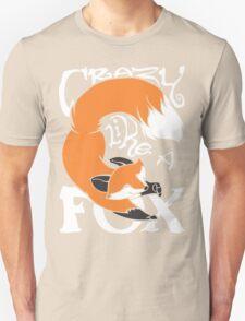 Crazy Like A Fox (Orange) Unisex T-Shirt