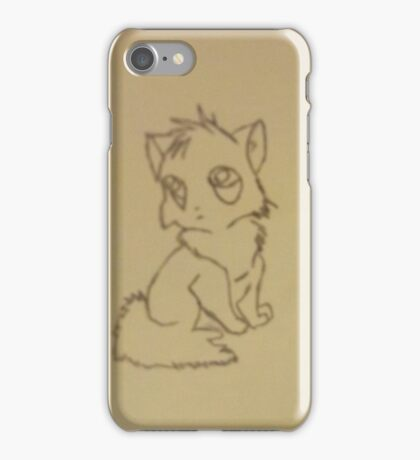 Cartoon Kitten iPhone Case/Skin