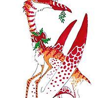 Christmas Quetzalcoatlus by Zagreus