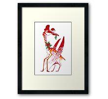 Christmas Quetzalcoatlus Framed Print