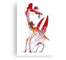 Christmas Quetzalcoatlus Canvas Print