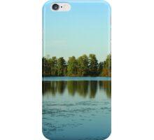 Escanaba Lake, Boulder Junction Wisconsin iPhone Case/Skin