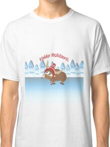 Yakky Holidays! Winter Scene Classic T-Shirt