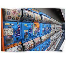 Japanese Capsule Machines Poster