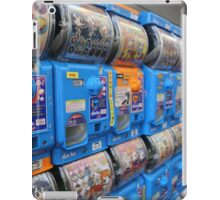 Japanese Capsule Machines iPad Case/Skin