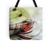 Heart Under Glass Tote Bag