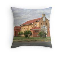 St. Patrick's Church, Brewarrina. Throw Pillow