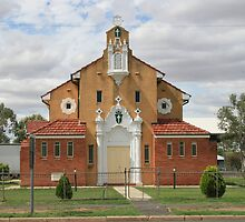 St Patrick's Church, Brewarrina. by Ross Campbell