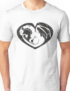 Dragon@Heart Large Unisex T-Shirt
