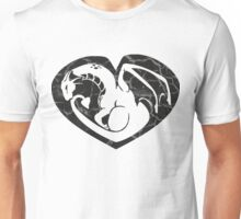 Dragon@Heart Large Unisex T-Shirt