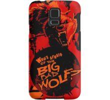 Big Bad Wolf Samsung Galaxy Case/Skin