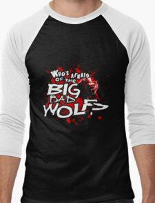 Big Bad Wolf Men's Baseball ¾ T-Shirt