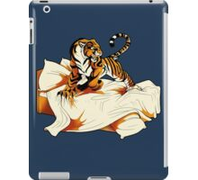 Tiger in Bed iPad Case/Skin