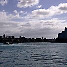 Sydney Opera House Silhouetted by Ben Shaw