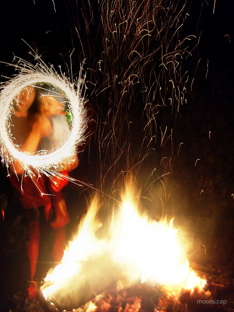 Bonfires and Sparklers by moseszap