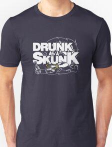 Drunk like a Skunk (Transparent) Unisex T-Shirt