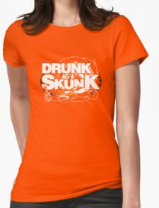Drunk like a Skunk (Transparent) Womens Fitted T-Shirt