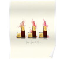 Lipstick 3 times the charm Poster