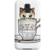 Kitten in a Tea Cup Samsung Galaxy Case/Skin