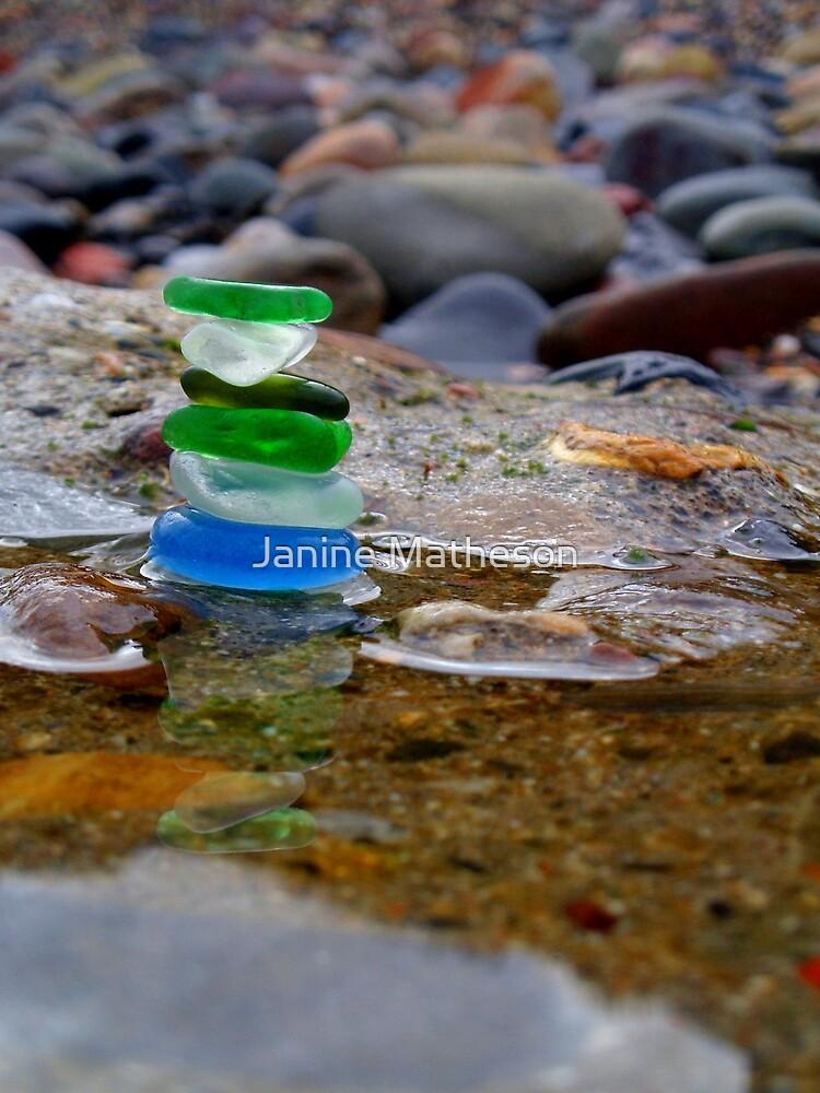 scottish seastack by Janine Matheson