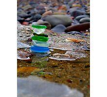scottish seastack Photographic Print