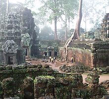 Ta Prohm Mist.. by liqwidrok