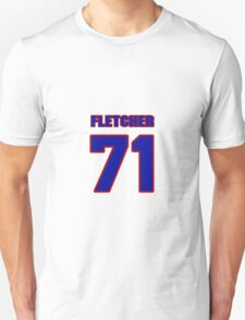 National football player John Fletcher jersey 71 T-Shirt