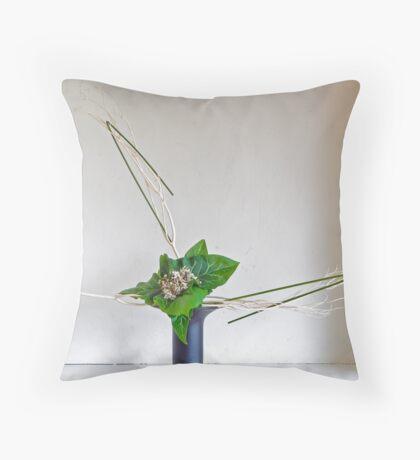 Ikebana-021 Throw Pillow