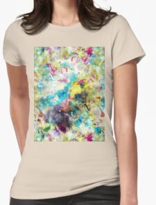 Colour Splash Womens Fitted T-Shirt