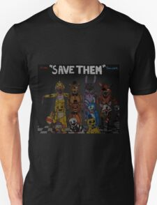 "Five Nights at Freddy's ""Save Them"" Unisex T-Shirt"
