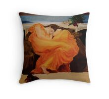 Flaming June Throw Pillow