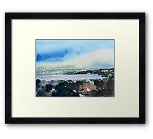 Monterey Bay, California Framed Print